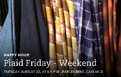 Plaid Friday Weekend Happy Hour with Townsquared!